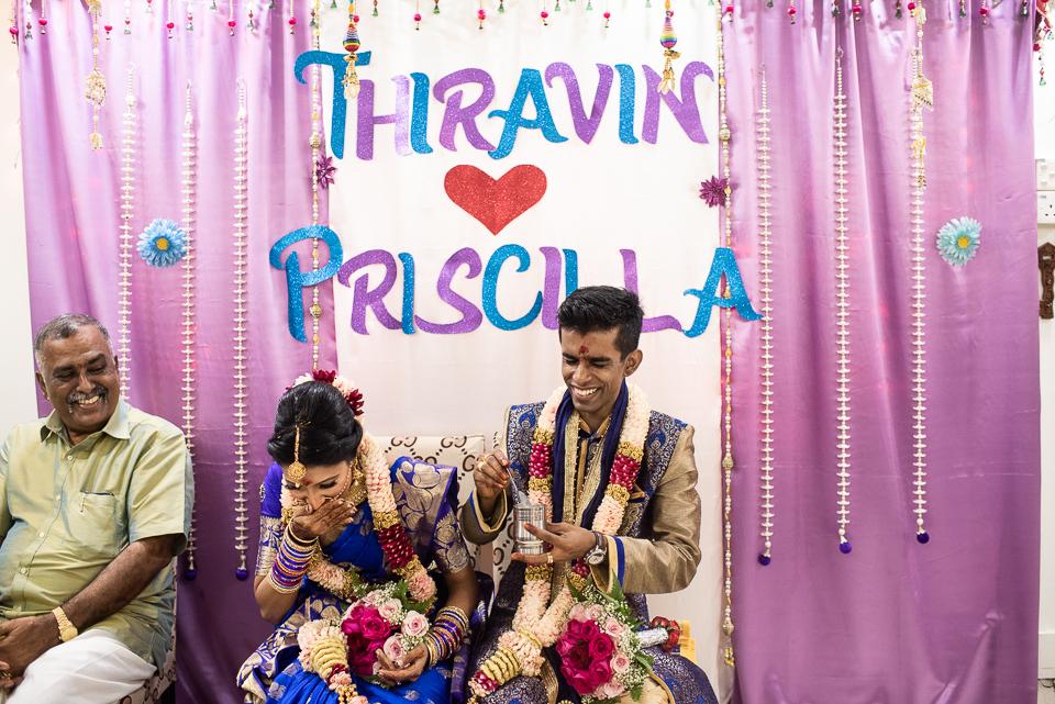 Thirvan & Priscilla