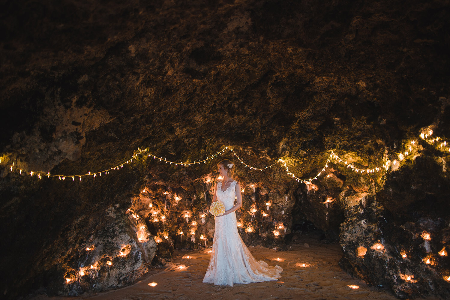 My Dream Wedding by the Beach Cave
