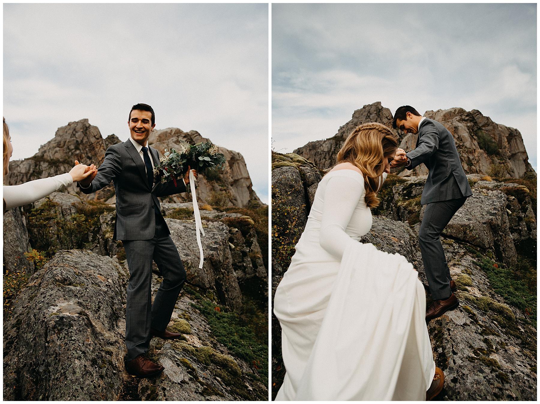 Mountaintop Elopement - Kristian & Seth