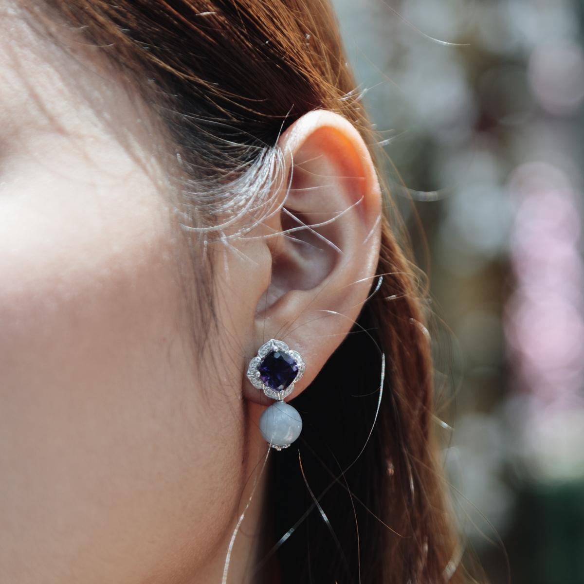 Ciaberra Convertible Jade Earring