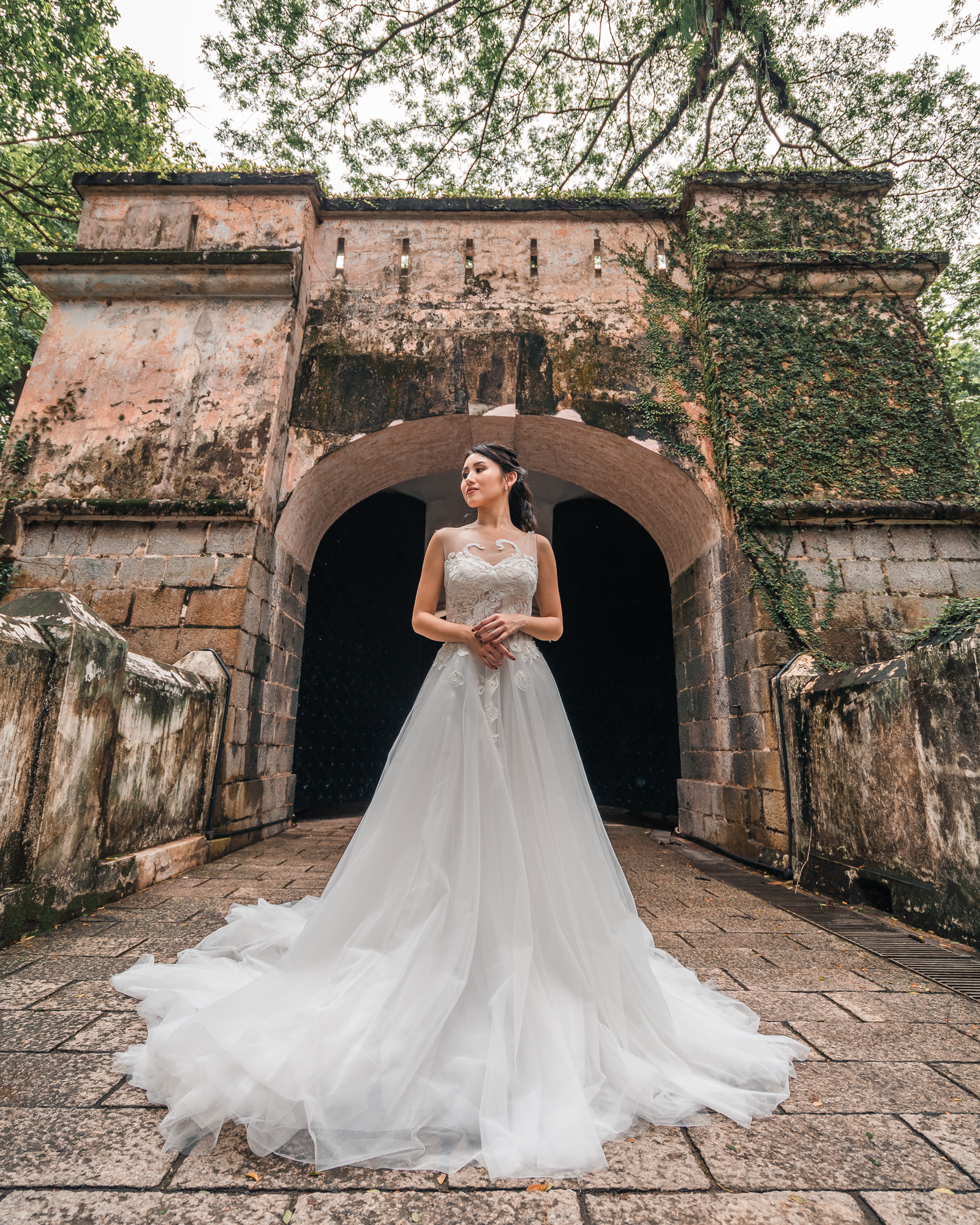 Grace Atelier Weddings @ Fort Canning Park