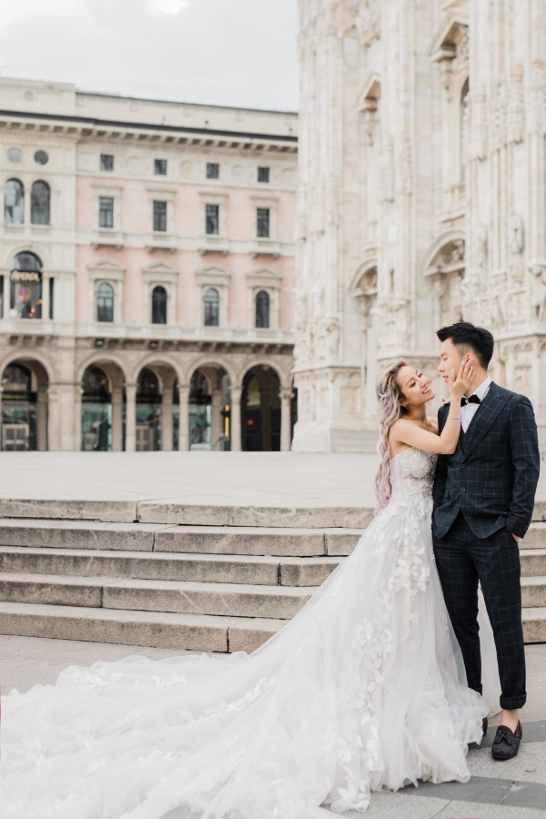 Milan Pre-Wedding: Naomi & Hann
