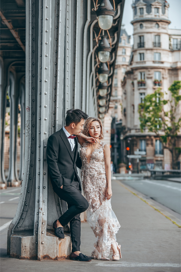 Paris Pre-Wedding: Naomi & Hann