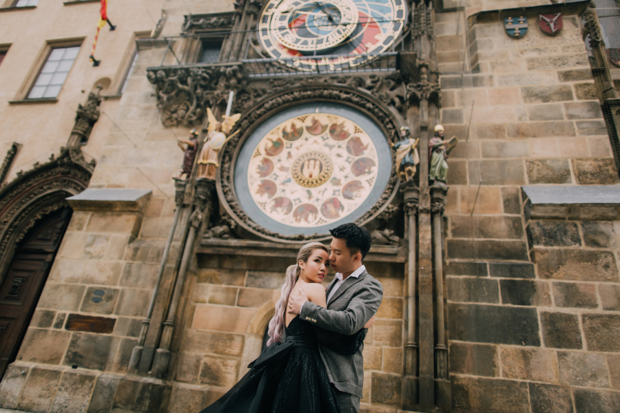 Prague Pre-Wedding: Naomi & Hann