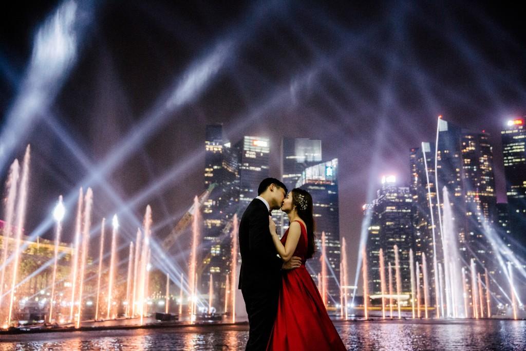 Singapore Pre-Wedding: Emi & Kodak