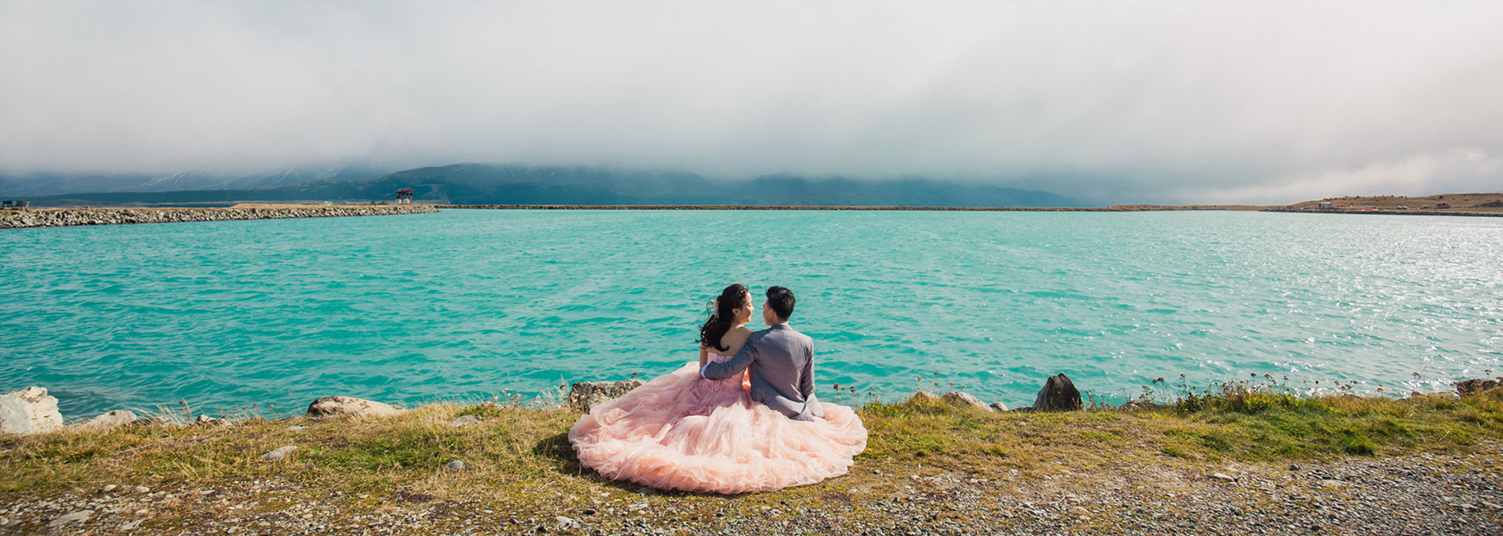 Lake tekapo pre wedding shoot 2
